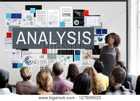 Analysis Planning Research Stats Information Concept