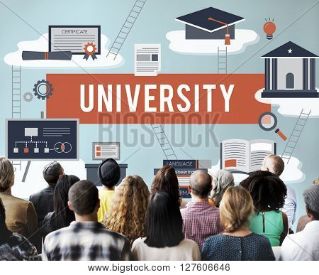 University Academic Campus College Education Concept