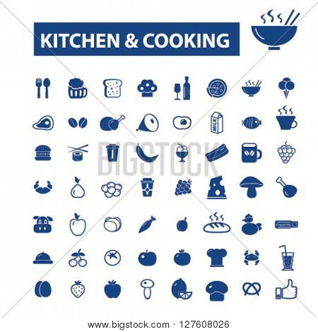 kitchen cooking icons