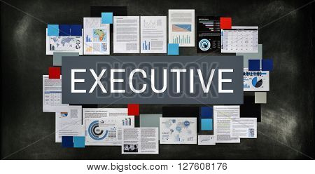 Executive Management Manager Process Strategy Concept