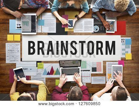 Brainstorm Analysis Creation Innovation Planning Concept