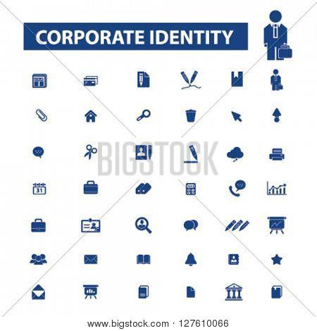 corporate identity icons