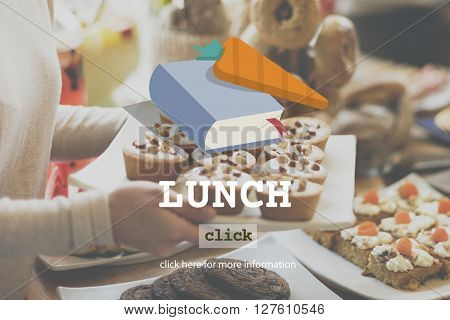 Lunch Meal Health Food Cook Lifestyle Concept