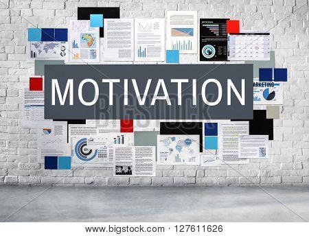 Motivation Aspiration Inspiration Dream Concept