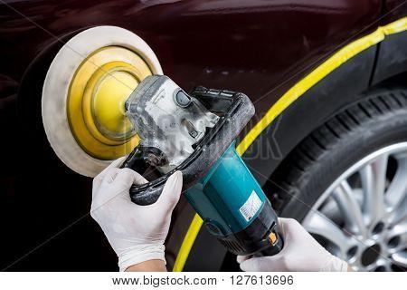 Car detailing series : Polishing brown car