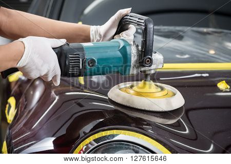 Car detailing series : Polishing brown car
