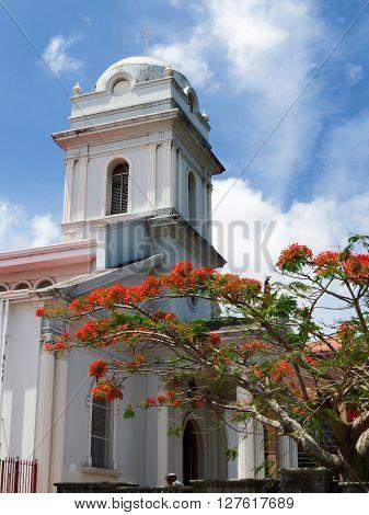 SAN JOSE, COSTA RICA - April 22: Church of