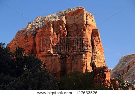 Angel's Landing in Zion National Park, Utah
