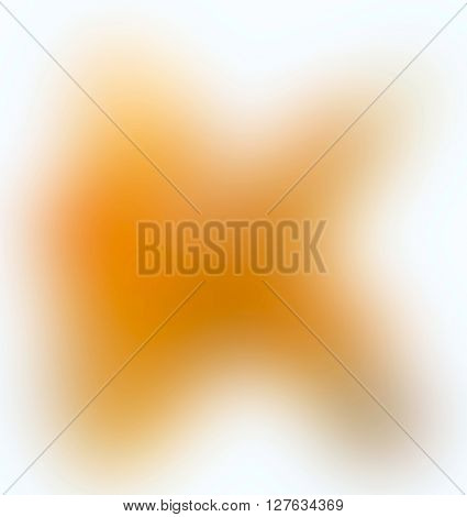 The variocolored blurred background and texture. Letter K.