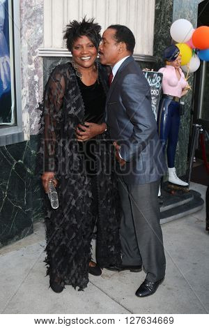 LOS ANGELES - APR 27:  Anna Maria Horsford, Obba Babatunde at the 2016 Daytime EMMY Awards Nominees Reception at the Hollywood Museum on April 27, 2016 in Los Angeles, CA