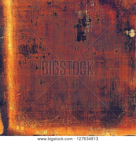 Vintage style shabby texture or background with classy grungy elements and different color patterns: yellow (beige); brown; gray; red (orange); purple (violet); pink