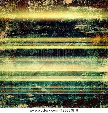 Abstract vintage colored background. With different color patterns: yellow (beige); brown; green; blue; cyan