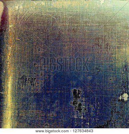 Art vintage texture for background in grunge style. With different color patterns: yellow (beige); gray; blue; purple (violet); black