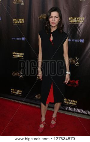 LOS ANGELES - APR 27:  Finola Hughes at the 2016 Daytime EMMY Awards Nominees Reception at the Hollywood Museum on April 27, 2016 in Los Angeles, CA