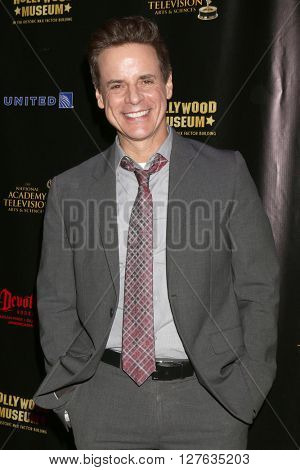 LOS ANGELES - APR 27:  Christian LeBlanc at the 2016 Daytime EMMY Awards Nominees Reception at the Hollywood Museum on April 27, 2016 in Los Angeles, CA