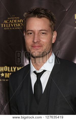 LOS ANGELES - APR 27:  Justin Hartley at the 2016 Daytime EMMY Awards Nominees Reception at the Hollywood Museum on April 27, 2016 in Los Angeles, CA
