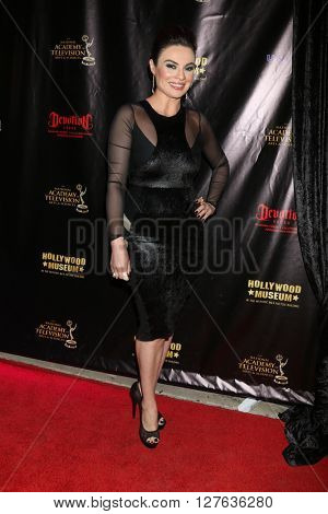LOS ANGELES - APR 27:  Lilly Melgar at the 2016 Daytime EMMY Awards Nominees Reception at the Hollywood Museum on April 27, 2016 in Los Angeles, CA