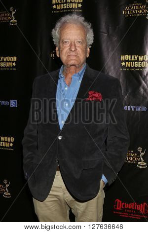 LOS ANGELES - APR 27:  Nicolas Coster at the 2016 Daytime EMMY Awards Nominees Reception at the Hollywood Museum on April 27, 2016 in Los Angeles, CA