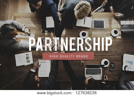 Partnership Alliance Association Teamwork United Concept