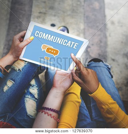 Communication Online Connection Chat Social Media Concept