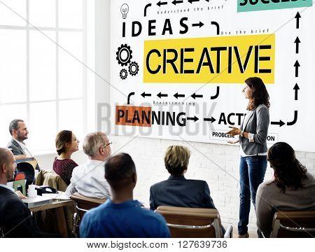 Creative Design Ideas Imagination Inspiration Creativity Concept