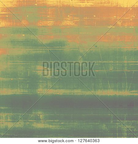 Retro style texture for your layouts. Grunge background with different color patterns: yellow (beige); brown; gray; green; red (orange)