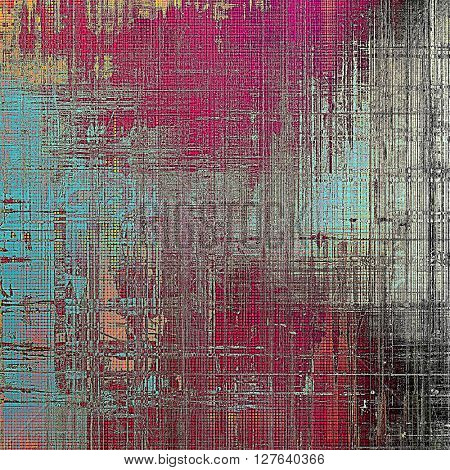 Elegant vintage background, antique texture. Designed grunge template with different color patterns: gray; blue; red (orange); purple (violet); pink