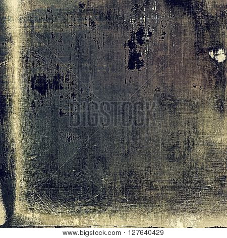 Elegant vintage background, antique texture. Designed grunge template with different color patterns: yellow (beige); brown; gray; blue; black