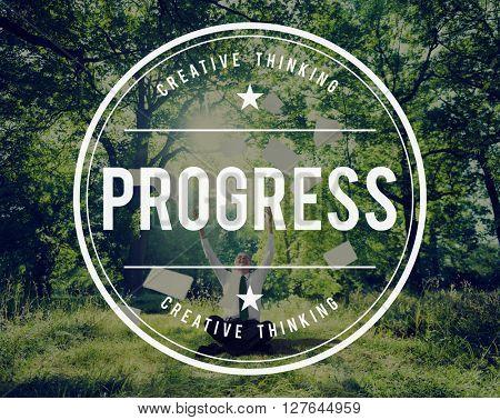 Progress Mission Improvement Change Innovation Concept