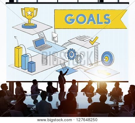 Goals Mission Motivation Aspiration Target Concept