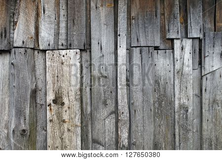 Vintage wood texture. Old wooden planks background. Weathered wooden wooden surface.