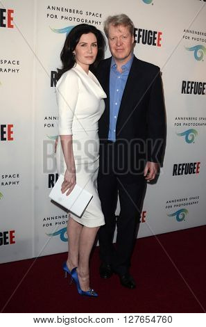 LOS ANGELES - APR 21:  Lord Charles Spencer, Lady Spencer at the Annenberg Space for Photography presents REFUGEE at the Annenberg Space for Photography on April 21, 2016 in Century City, CA