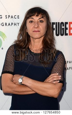 LOS ANGELES - APR 21:  Lynsey Addario at the Annenberg Space for Photography presents REFUGEE at the Annenberg Space for Photography on April 21, 2016 in Century City, CA
