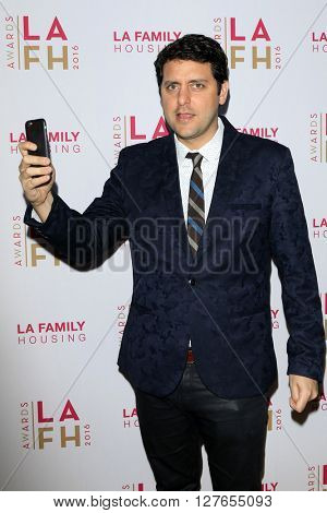 LOS ANGELES - APR 21:  Ben Gleib at the LA Family Housing Awards at the The Lot on April 21, 2016 in Los Angeles, CA