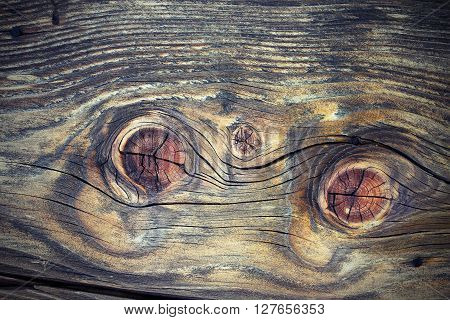 beautiful wood knots on fir plank real interesting texture of weathered wooden board