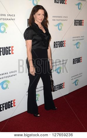 LOS ANGELES - APR 21:  Kristin Davis at the Annenberg Space for Photography presents REFUGEE at the Annenberg Space for Photography on April 21, 2016 in Century City, CA