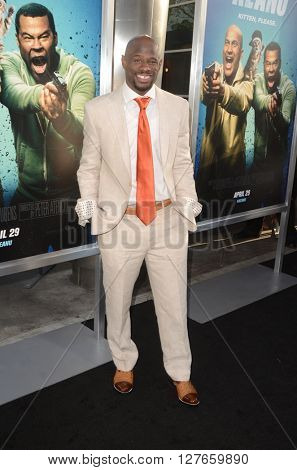 LOS ANGELES - APR 21:  Jamar Neighbors at the Keanu Los Angeles Premiere at the ArcLight Hollywood Theaters on April 21, 2016 in Los Angeles, CA