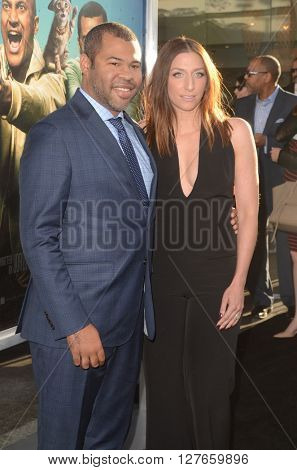 LOS ANGELES - APR 21:  Jordan Peele, Chelsea Peretti at the Keanu Los Angeles Premiere at the ArcLight Hollywood Theaters on April 21, 2016 in Los Angeles, CA
