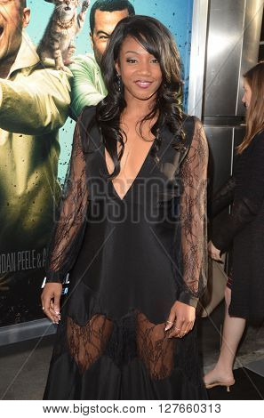 LOS ANGELES - APR 21:  Tiffany Haddish at the Keanu Los Angeles Premiere at the ArcLight Hollywood Theaters on April 21, 2016 in Los Angeles, CA