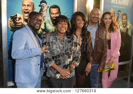 LOS ANGELES - APR 21:  Unknown, Loretta Devine, David Alan Greier, Tiffany Haddish, Amber Stevens at the Keanu Premiere at the ArcLight Hollywood Theaters on April 21, 2016 in Los Angeles, CA