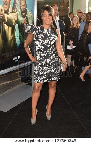 LOS ANGELES - APR 21:  Nia Long at the Keanu Los Angeles Premiere at the ArcLight Hollywood Theaters on April 21, 2016 in Los Angeles, CA