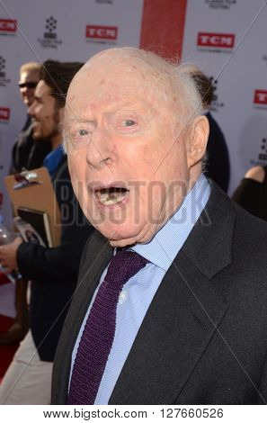 LOS ANGELES - APR 28:  Norman Lloyd at the TCM Classic Film Festival Opening Night Red Carpet at the TCL Chinese Theater IMAX on April 28, 2016 in Los Angeles, CA