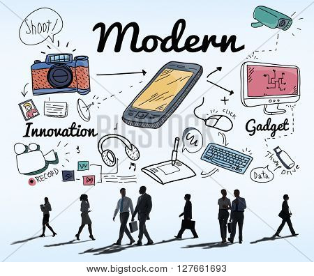 Modern Trend Latest Fashion Trendy Concept