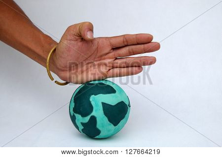 Destroy The Earth By Human Hand