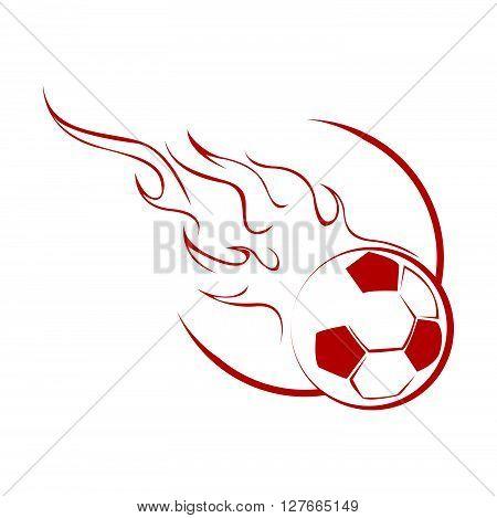 Ball Fire .eps10 editable vector illustration design