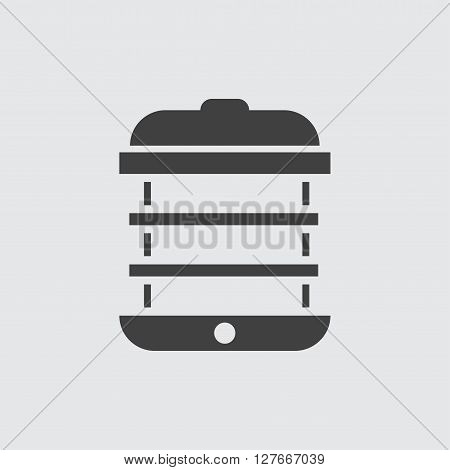 Steamer icon illustration isolated vector sign symbol
