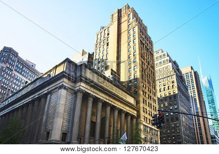 Greenwich Savings Bank In Midtown Manhattan