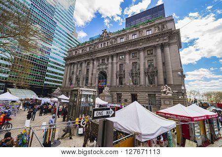 Street View On Alexander Hamilton Us Custom House Lower Manhattan