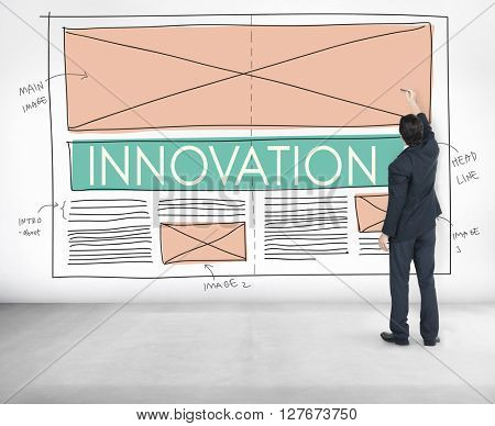 Innovation Development Imagination Modern Concept