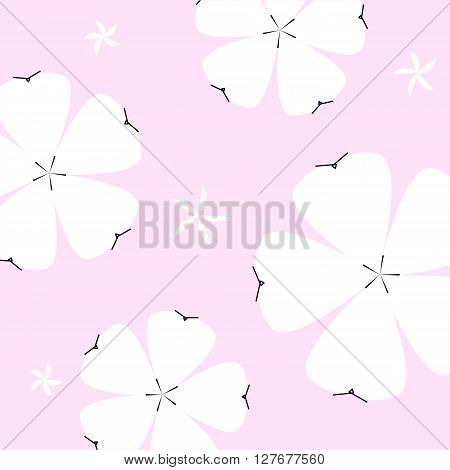 cute spring or summer floral pattern. Background with flowers